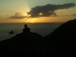 sunset fisterra